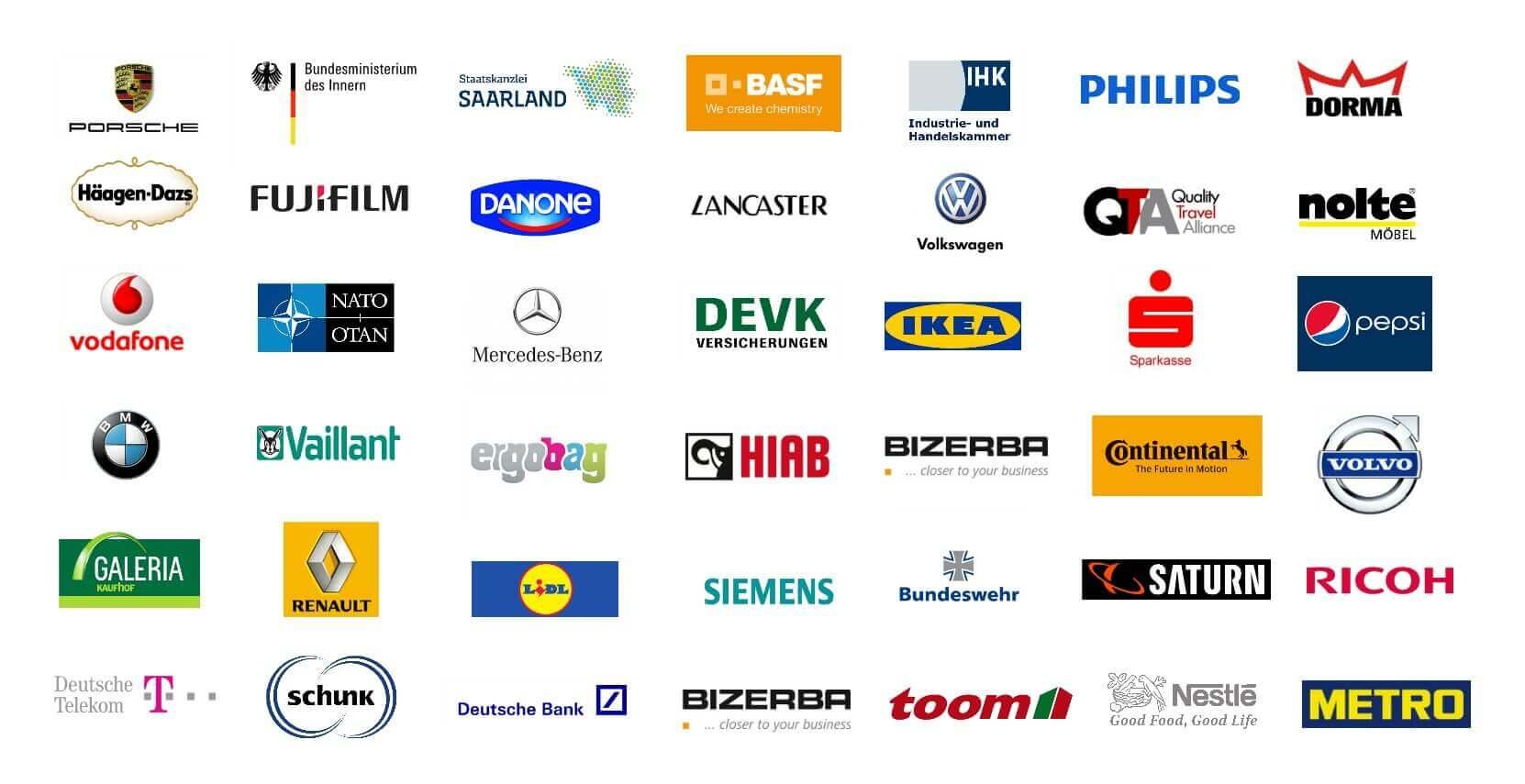 Moderatorin Event Carmen Hentschel Referenzliste für ihre Moderationen von bekannten Kunden und Firmen