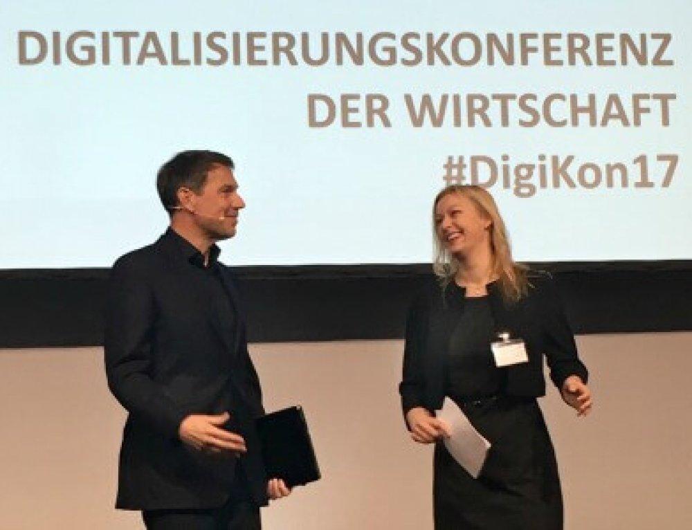 Moderator digitale Zukunft