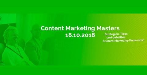 Moderator Digitalisierung Content Marketing Masters