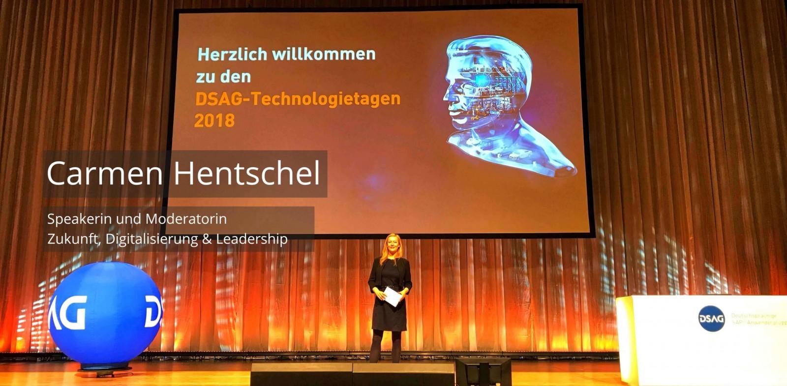 Keynote Speaker und Moderator Digitalisierung Carmen Hentschel