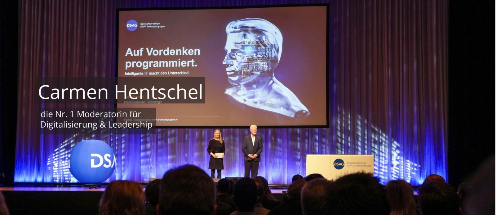 Moderator Digitalisierung Carmen Hentschel