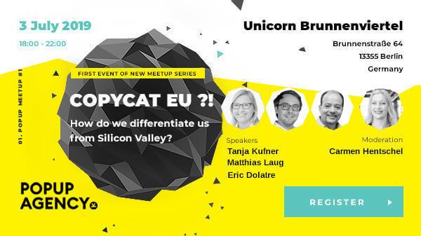Moderatorin und Speakerin Carmen Hentschel diskutiert u.a. mit Gmx-Co-Founder Eric Dolatre über die Frage: Wieviel Sillicon Valley braucht Deutschland?