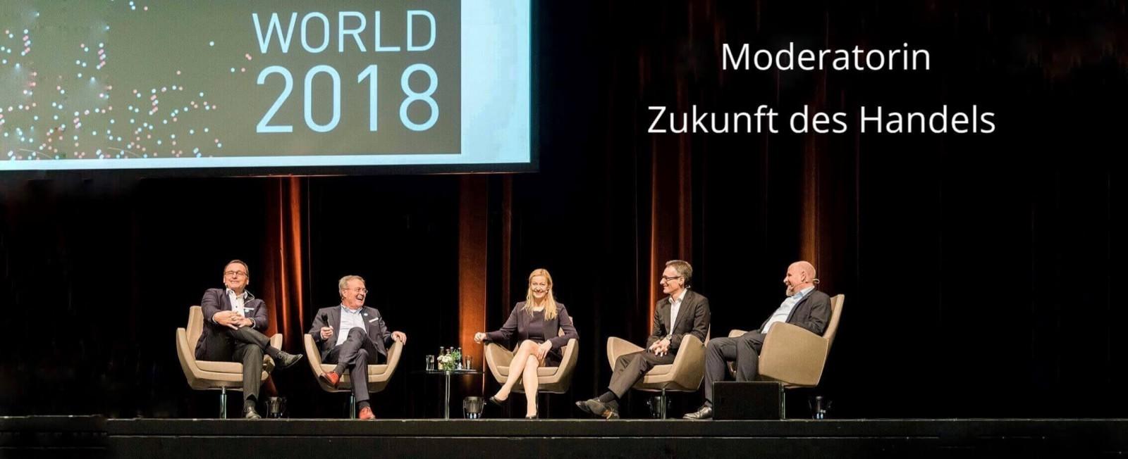 Moderatorin Zukunft des Handels