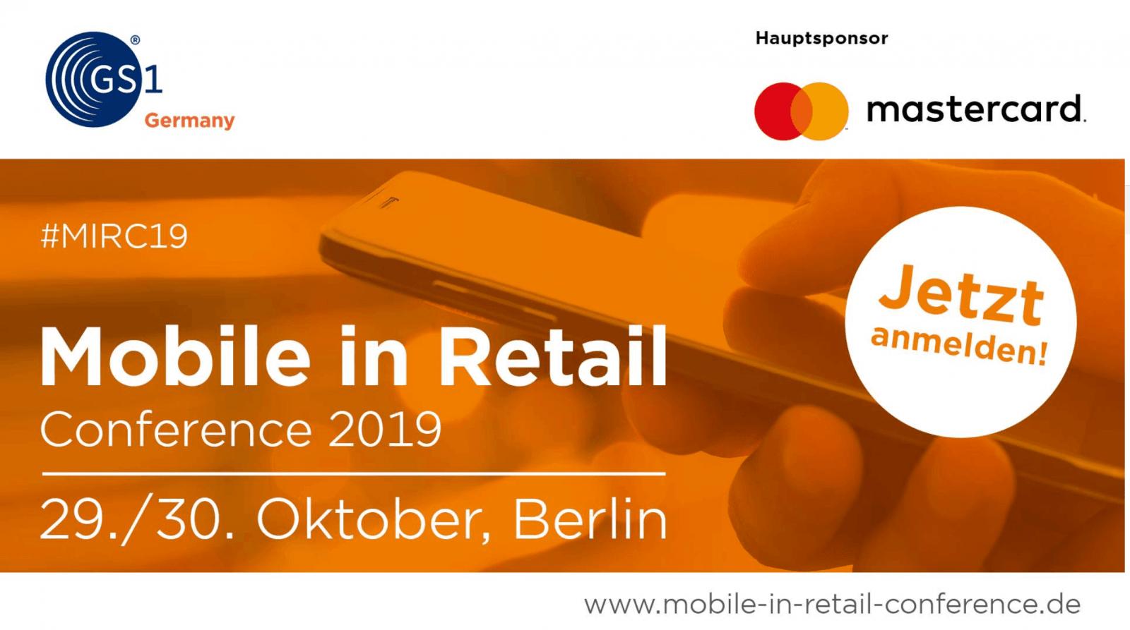 Moderatorin Carmen Hentschel moderiert die Mobile in Retail Konferenz für GS1