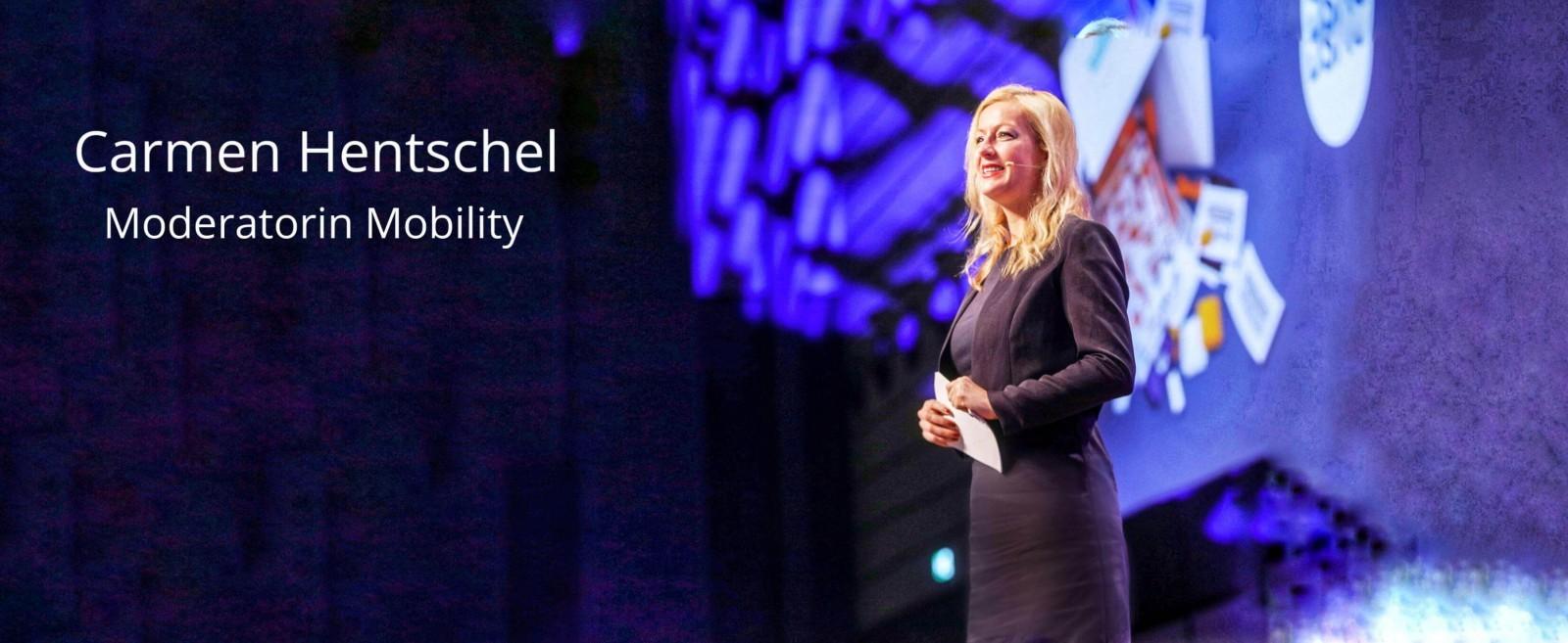 Moderatorin New Mobility Carmen Hentschel