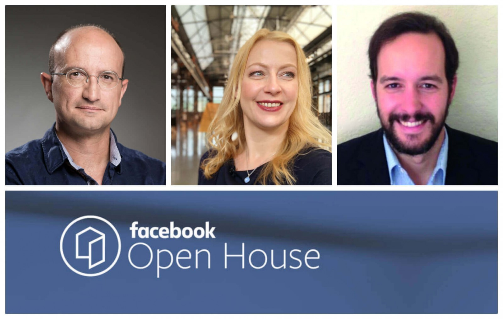 Moderator Carmen Hentschel ist hosting the AI panel for the Facebook Open House Event in Berlin