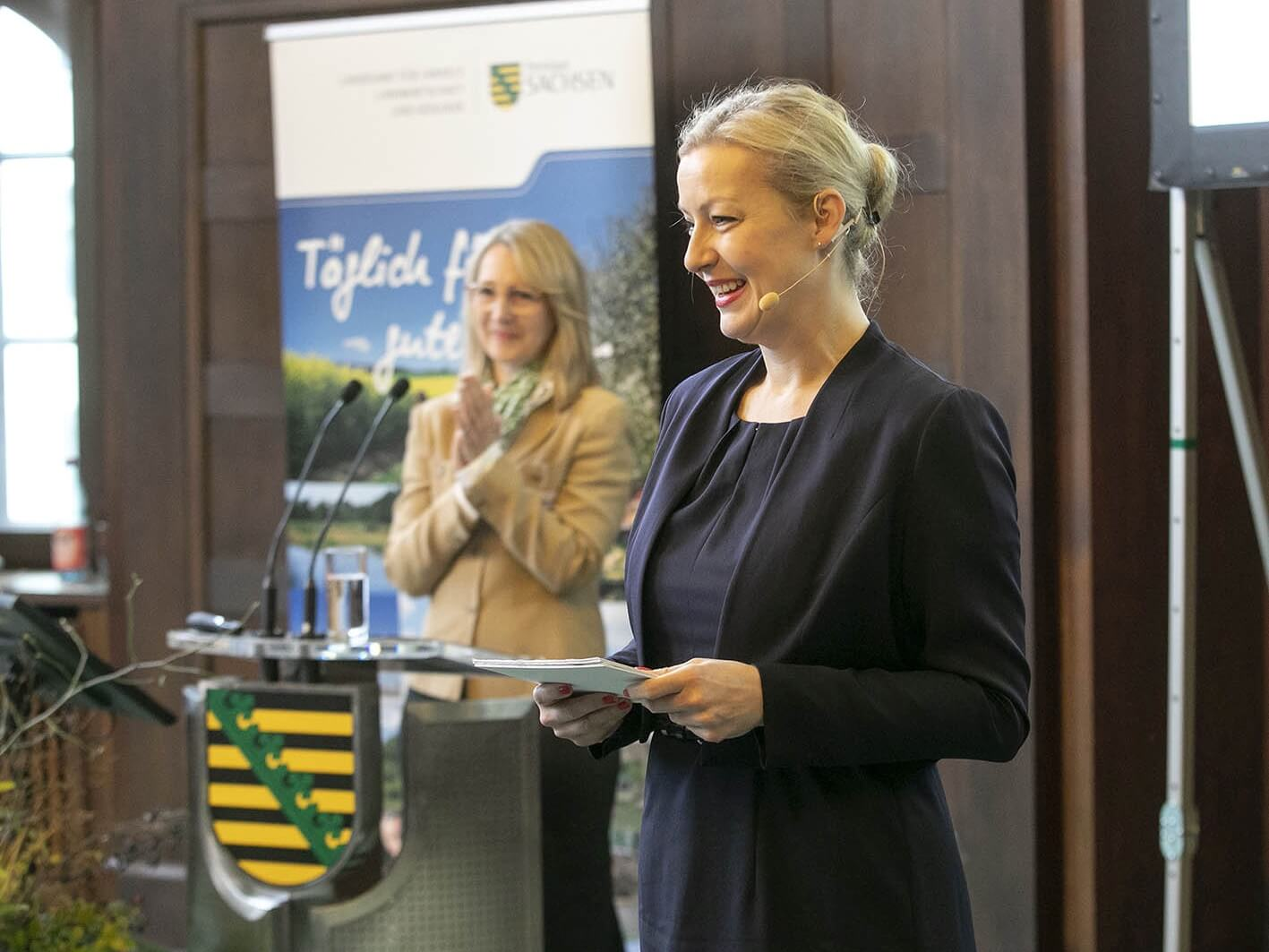 Moderatorin Carmen Hentschel Roadshow Innovation Alliance Cisco