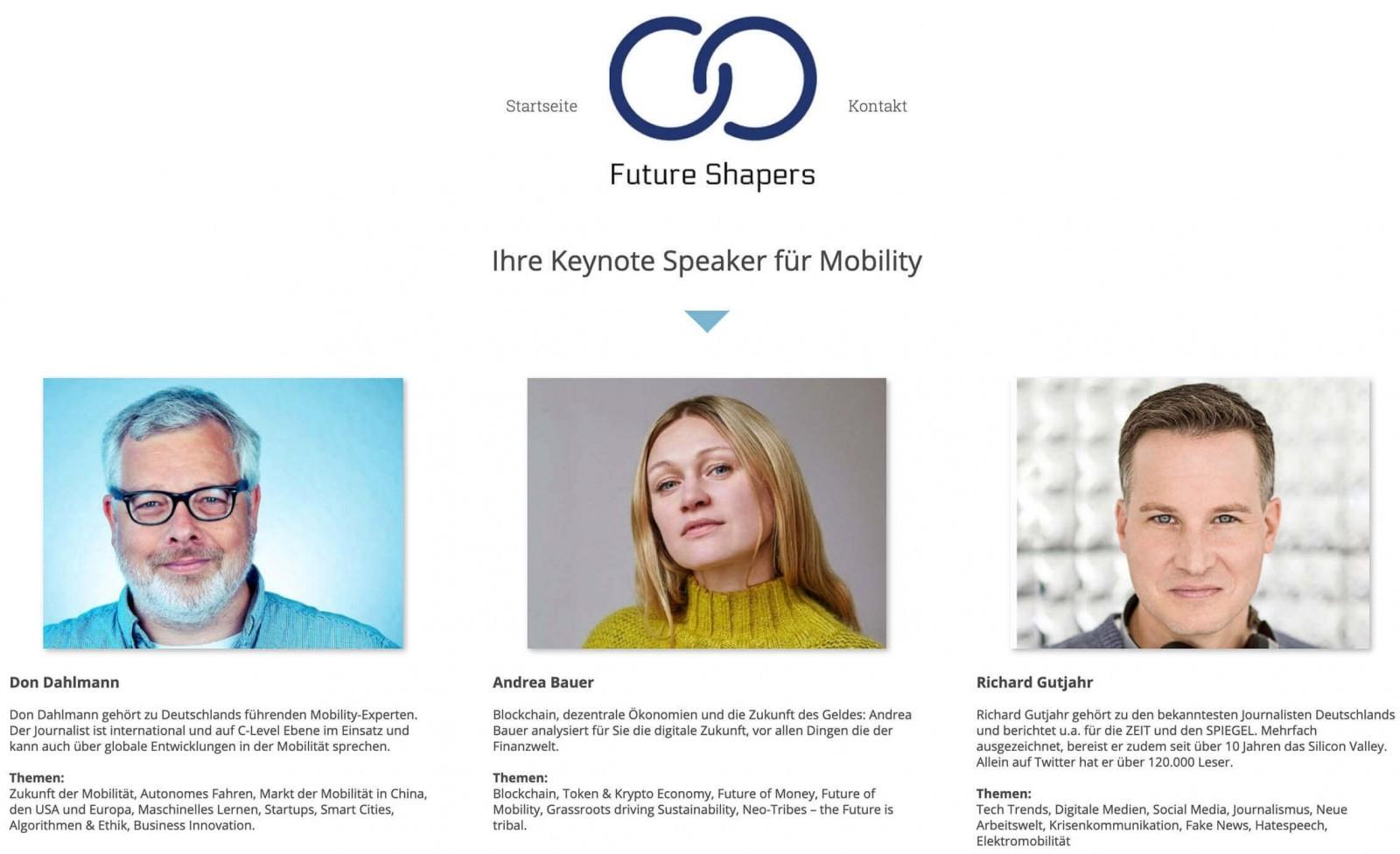 Keynote Speaker Mobility, Mobilität, Auto und Smart City
