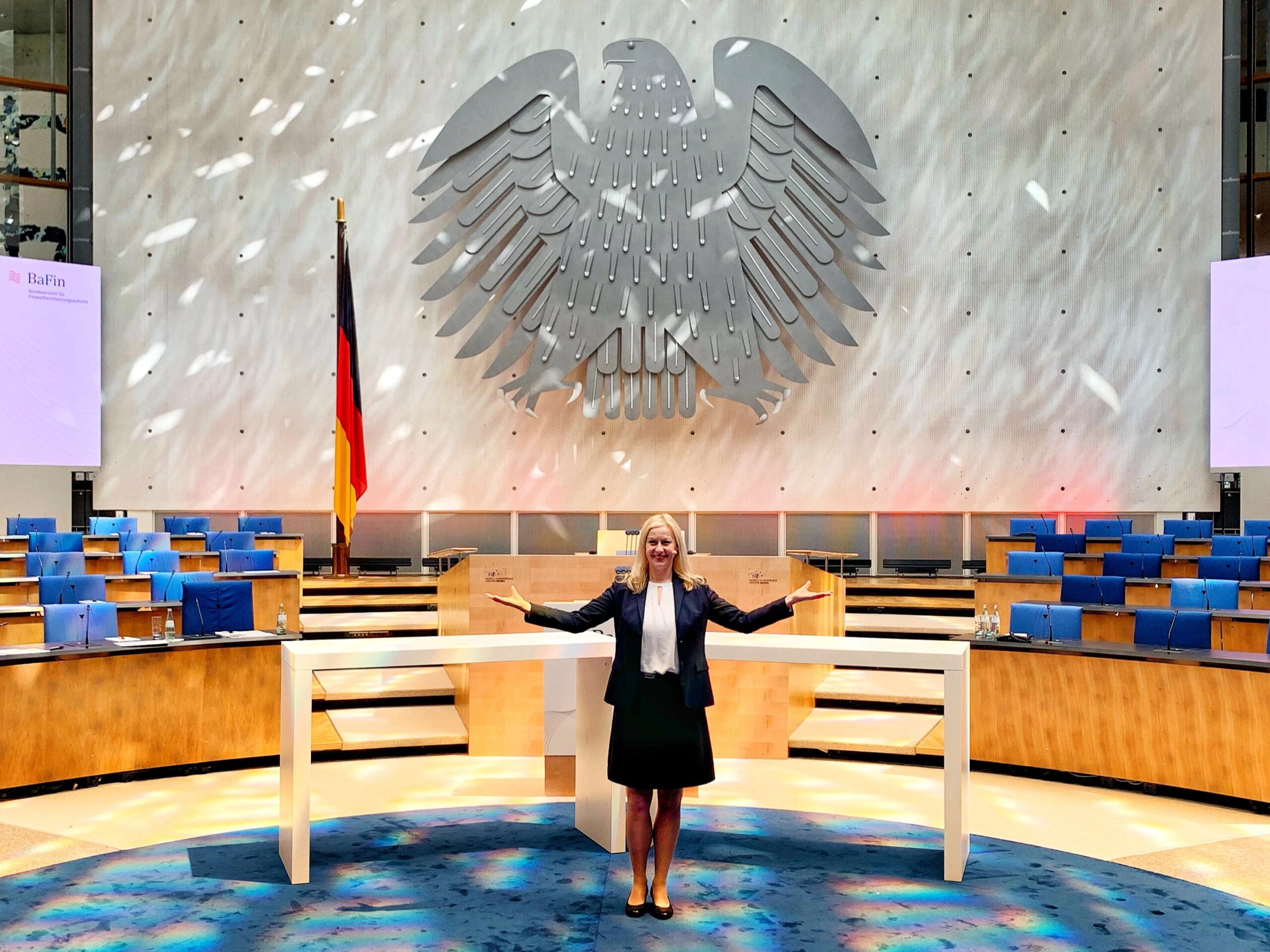 Moderatorin Finanzen Fintech und Banken Carmen Hentschel