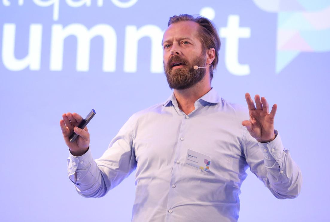 Keynote Speaker Gesundheit und Redner KI und Zukunft der Medizin Bart de Witte